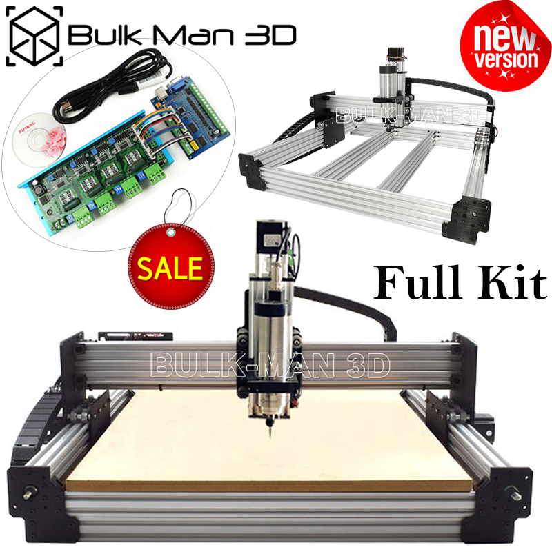 Tingle Tension System Screw Driven STB5100 Mach3 CNC Engraver Complete Kit